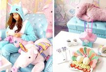 Unicorni ,fragole e arcobaleni