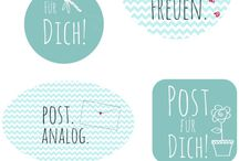 Printable | Etiketten und weitere schöne Dinge
