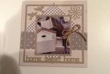 Zelfgemaakte Kaarten / Maak jij zelf leuke kaarten met kerst of voor bijzondere gelegenheden. Deel ze met ons en verstuur dit bord naar vriendinnen.... ( Vind je dit een leuk initiatief 'Like' ons op www.facebook.com/SamenLokaal )