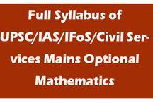 IAS Maths / by Ims New Delhi