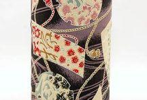 Puszki na herbatę / Japońskie puszki na herbatę. Świetnie zdobione.