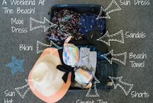 Travel Tips / Handy tips and tricks for packing and other travel preparation!