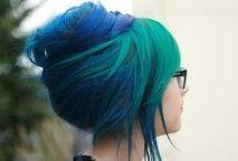 Green hair tho / green hair