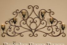 Candle Holders ~ Sconces ~ Picture Frames / Adding the finishing touches to your home!