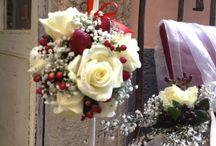 "rose fragole bouquet weddding matrimoni / ""4 Matrimoni in Italia ""  3giugno 2015"