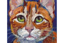 Arte de gatos / Arte gatuno que nos encanta, por ser purrrrrfecto.