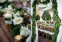 eco green wedding theme