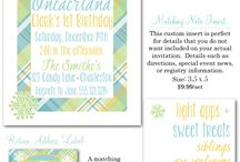 Winter Birthday Parties / winter party invites, winter party decor, december birthdays, january birthdays, boy party invites, girl party invites, birthday party invitations, Party Box Design, Snowflake party invites, winter onederland party, winter wonderland party invitations, wine labels, beer labels, water bottle labels, cupcake toppers, penguin party, snowflakes, power blue, chevron, polka dot party