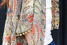 kimonos y chalecos