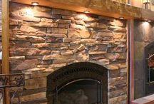 fireplace / by Janie Hogan
