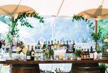 Whiskey Barrels / Wedding Decor