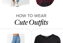 Outfits / Ideas if you don't know what to wear...