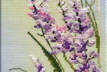 kanaviçe kır çiçeyi