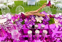 Real Weddings - Vivian and Sal / A purple fairy tale.  A beautiful beach wedding of Vivian and Sal at Acqualina Resort & Spa. For information about events at Acqualina, please contact Kerry Harter at 305-918-6774 or at kerry.harter@acqualina.com.  / by Acqualina Resort & Spa on the Beach