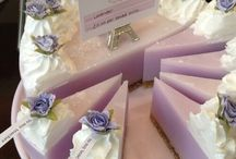 Pictures of wedding soaps.
