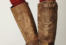 Boots and legwarmers