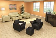 Sofas and Lounge Chairs for waiting/reception areas / Ensuring your visitors and fellow co-workers a comfortable seat is a must in almost everyones eyes. Starting there gives a great first impression and usually leads to a smoother process when doing business with them. Our sofas and lounge furniture has a wide selection to choose from and will help you get that solid first impression.
