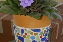 Crafts with Terra Cotta Pots / Crafts using Terra Cotta Pots / by Christine Leach McIntire