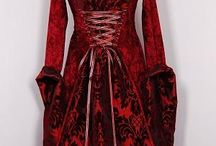 Medieval Fashion / Fashion and costumes from the Middle Ages (10th to 15th. centuries)