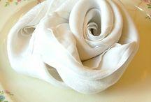 napkin folding / by June Reed