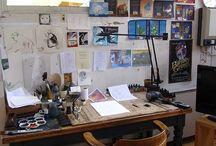 Art studios <3
