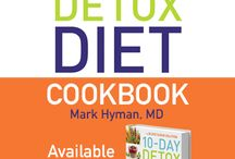 The 10 Day Detox Diet Cookbook / The ideal cookbook to revamp your kitchen, your health and your palette. Pre-order your copy today and receive 10 bonus recipes! ---> http://bit.ly/1KIyfCl / by Mark Hyman MD