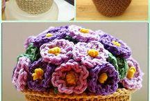 flowerpots/bouquets