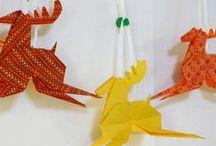 noël origami