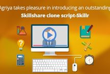 Skill share clone script / Agriya's an alternative Skillshare clone script launch helps to create a typical online learning platform having certain core features and modules.