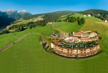 Alpin Panorama Hotel Hubertus****s / Enjoy the special magic in our wellness area with 5 pools in- and outdoor and experience the unlimited hiking and sport possibilities in the magnificent nature of the Dolomites