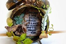 Tim Holtz inspired projects