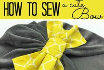 Bow Out Of Fabric