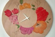 Time Loop Clocks / Handmade Clocks