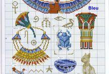 Egypt in cross stitch