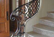 Railling / Railling tangga Klasik