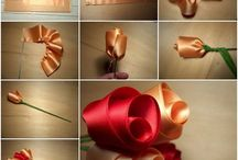výroba ruží zo stúh