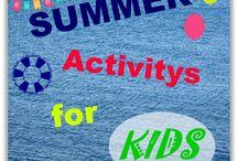 SUMMER Activitys for KIDS / Actividades veraniegas para niños...