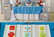 Robot Party Ideas / This board is a great place to find fun robot inspiration for your child's party!