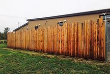 Staggered Height Picket Fence