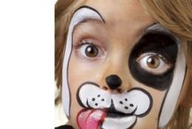 Animal Face Painting Ideas / At Kawaii Animals we love all animals.  Check out our online store of unusual animal themed toys and gifts.  www.kawaiianimals.com   www.facebook.com/mykawaiianimals   @MyKawaiiAnimals