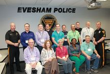 """Citizen Police Academy-Session #4 / Session #4 of the Citizen Police academy was held every Tuesday night from April 1st to May 20, 2014.  Participants were able to see """"behind the scenes"""" at the department and learn different aspects of the profession.  This program is held twice a year for any residentsor business owners in Evesham Township who are at least 18 years old."""