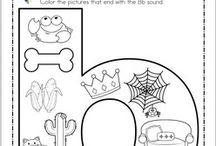 ABC letters / Tipografia, avecedarios, actividades para mejorar la lectoescritura