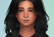 Sims 4 cc female hair