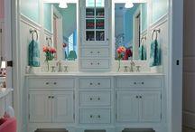 łazienki inspiracje