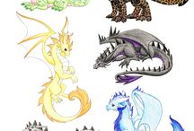 Drawn Dragons