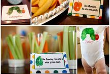 <3 The Very Hungry Caterpillar Birthday Party / Eric Carle <3