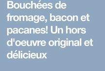 Bouchée fromage baco