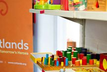 Toy Libraries / Since toys are pretty expensive, Cotlands runs toy libraries around the country. Our toy libraries are set up to allow members of the community, ECD centres and school to lend toys and games.