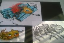 My Art Work / Just a range of different artistry using a range of different media...