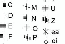 Språk o bokstäver
